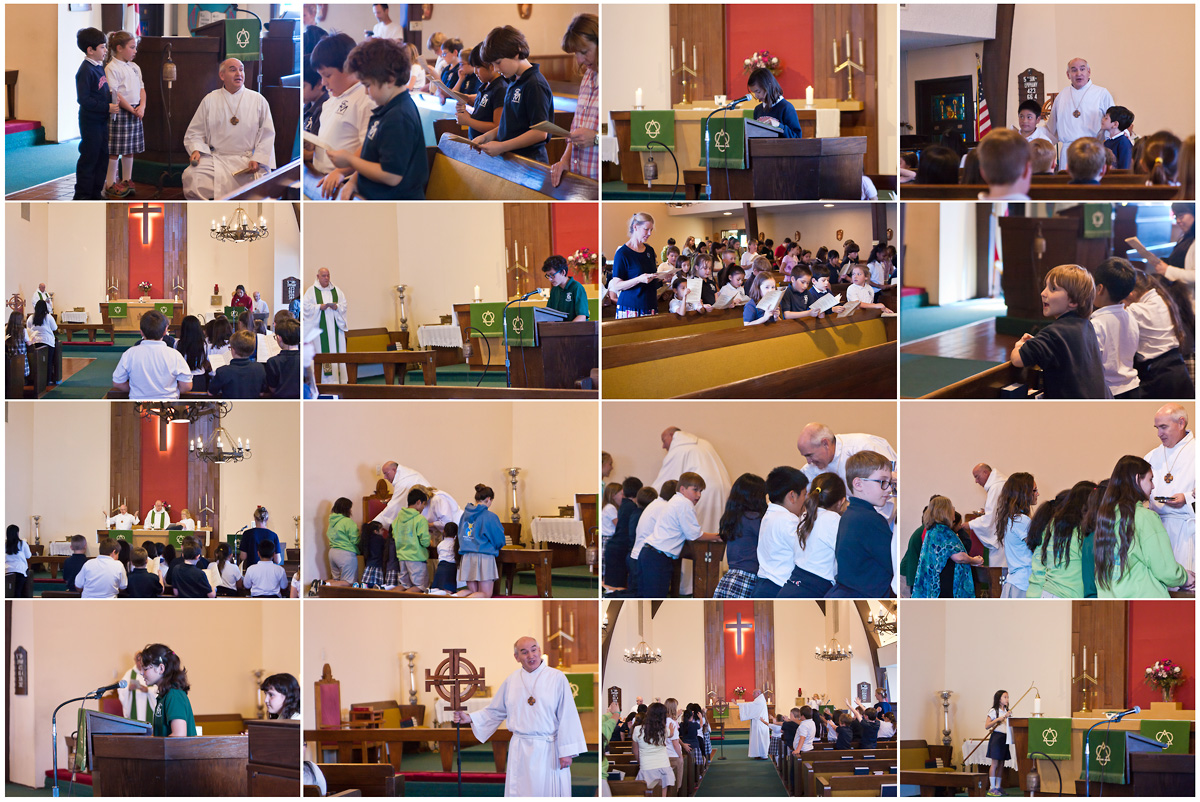 February 2015 - Service of Blessing & Eucharist