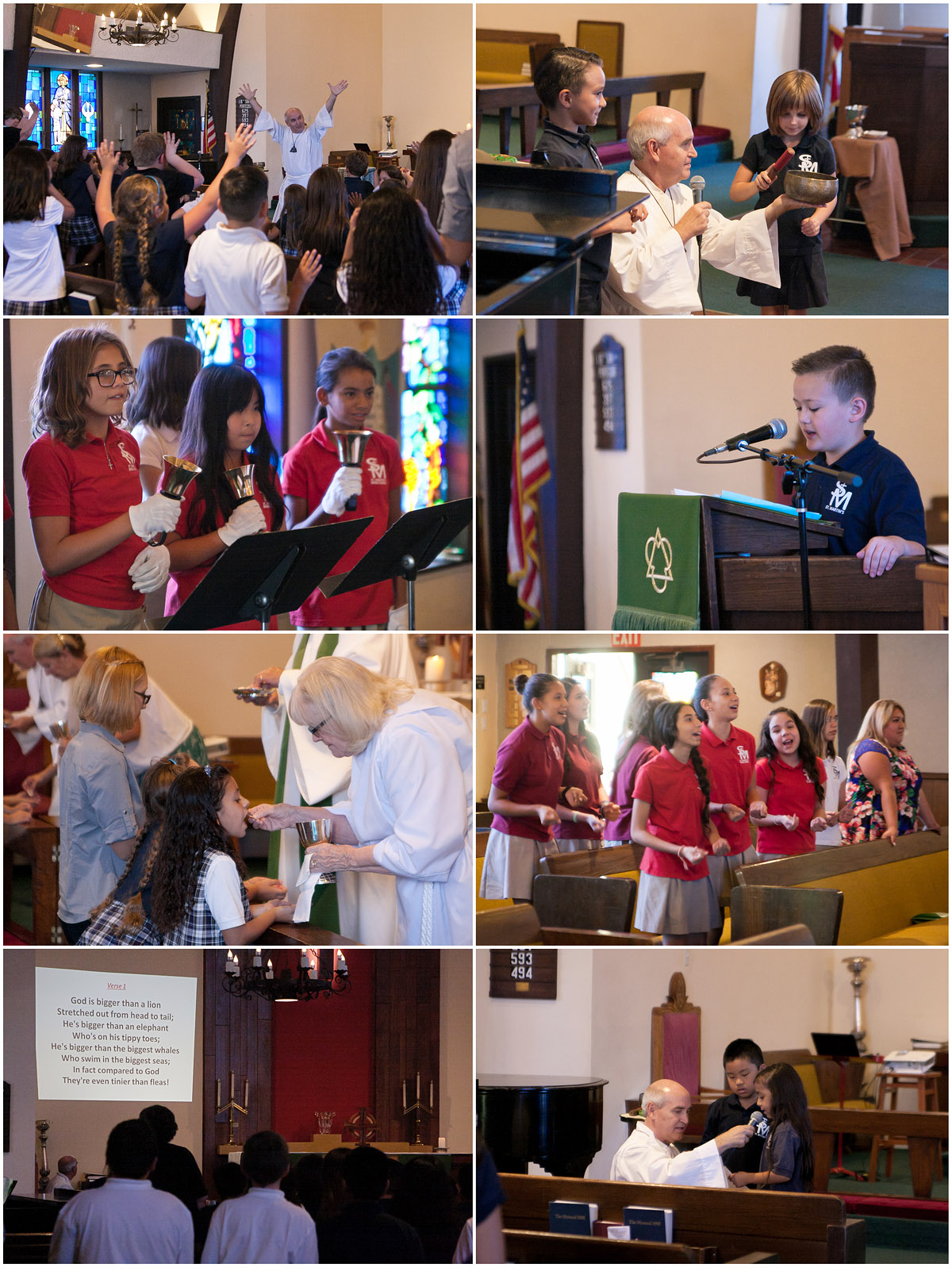 Blessing & Communion Service - Sept 2016