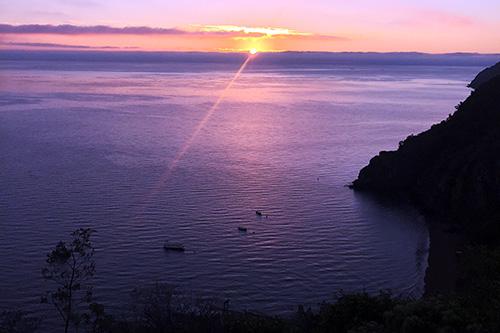 Morning sunrise following the Shrine Hike.